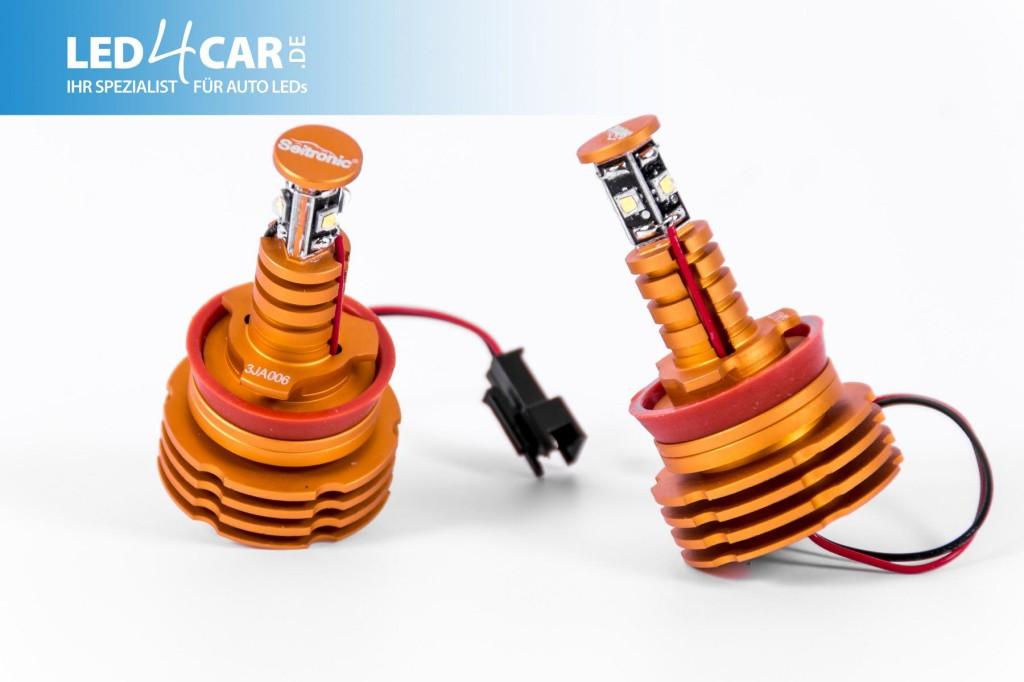 H8 LED Angel Eyes von Seitronic mit 10 Watt